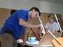 Malování židlí